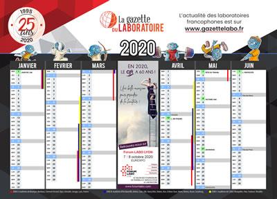 calendrier 2019 recto