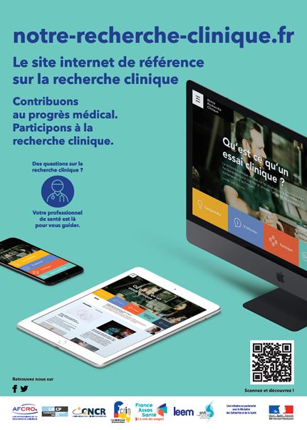 Communication Notre-recherche-clinique.fr