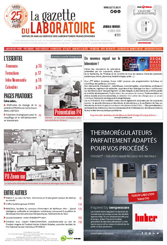la Gazette du LABORATOIRE FRANCE